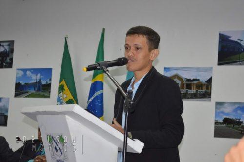 Câmara concede título de Cidadão Macaibense a Wedson Poeta - MACAÍBA NEWS